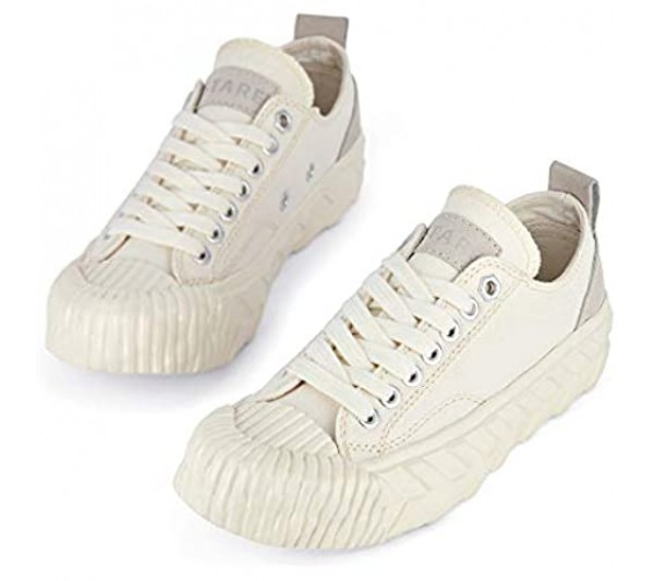 Monte Bianco Original Canvas Low Top Sneakers | Handmade Lace up Shoes for Unisex