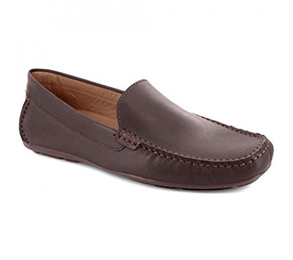 Driver Club USA Men's Leather Made in Brazil San Diego Loafer Driving Style