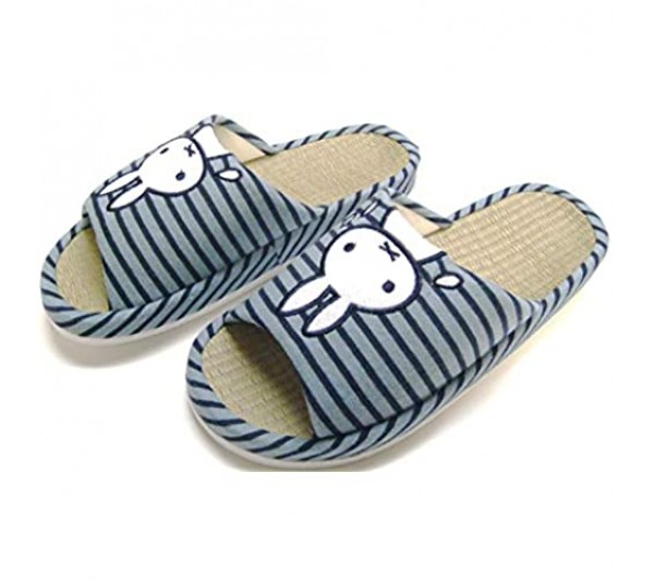 KW3102ST/House Slippers Arch Support Wide Width Natural Bamboo Insole Rabbit Indoor use Slippers